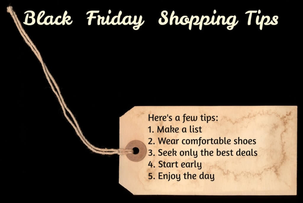 shopping tips, black Friday shopping