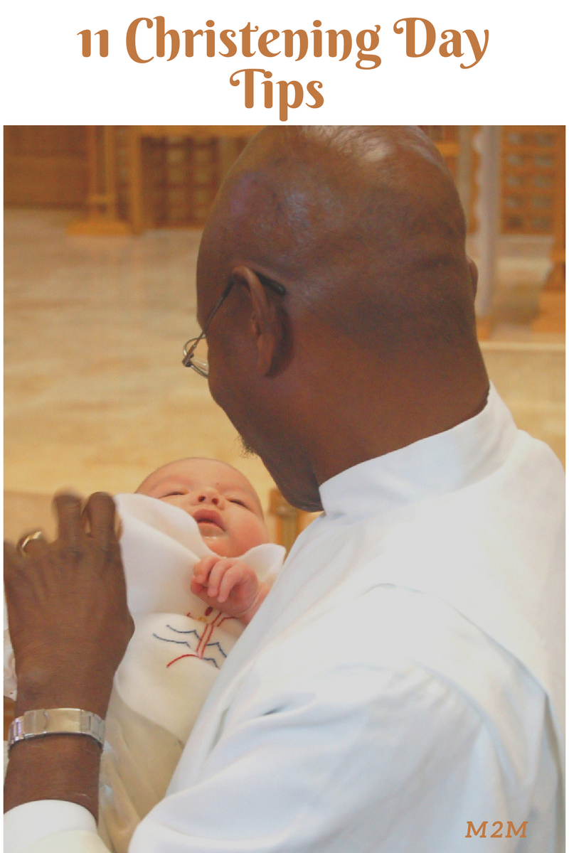 christening day tips