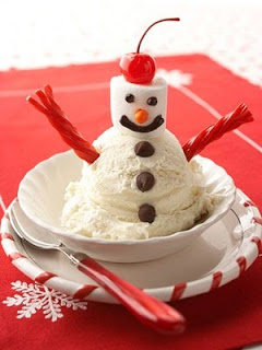 snowman treats, fun kids food, edible snowman ideas