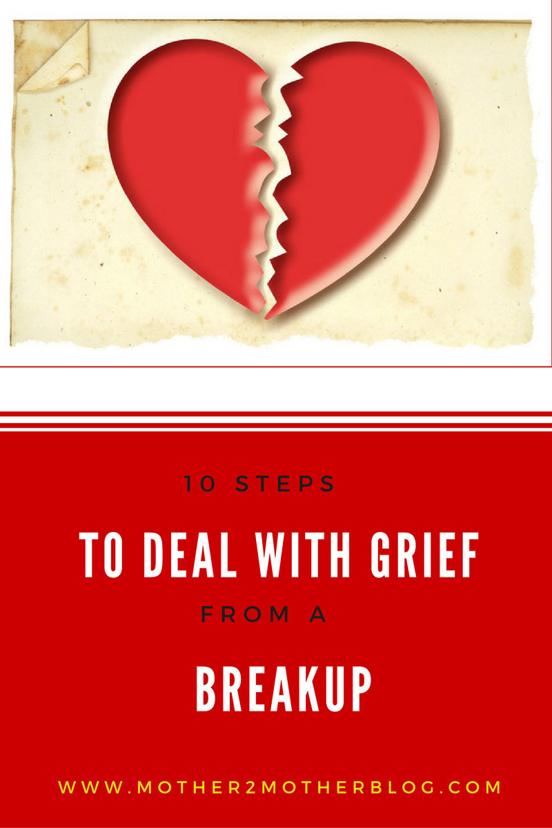 grief from a breakup