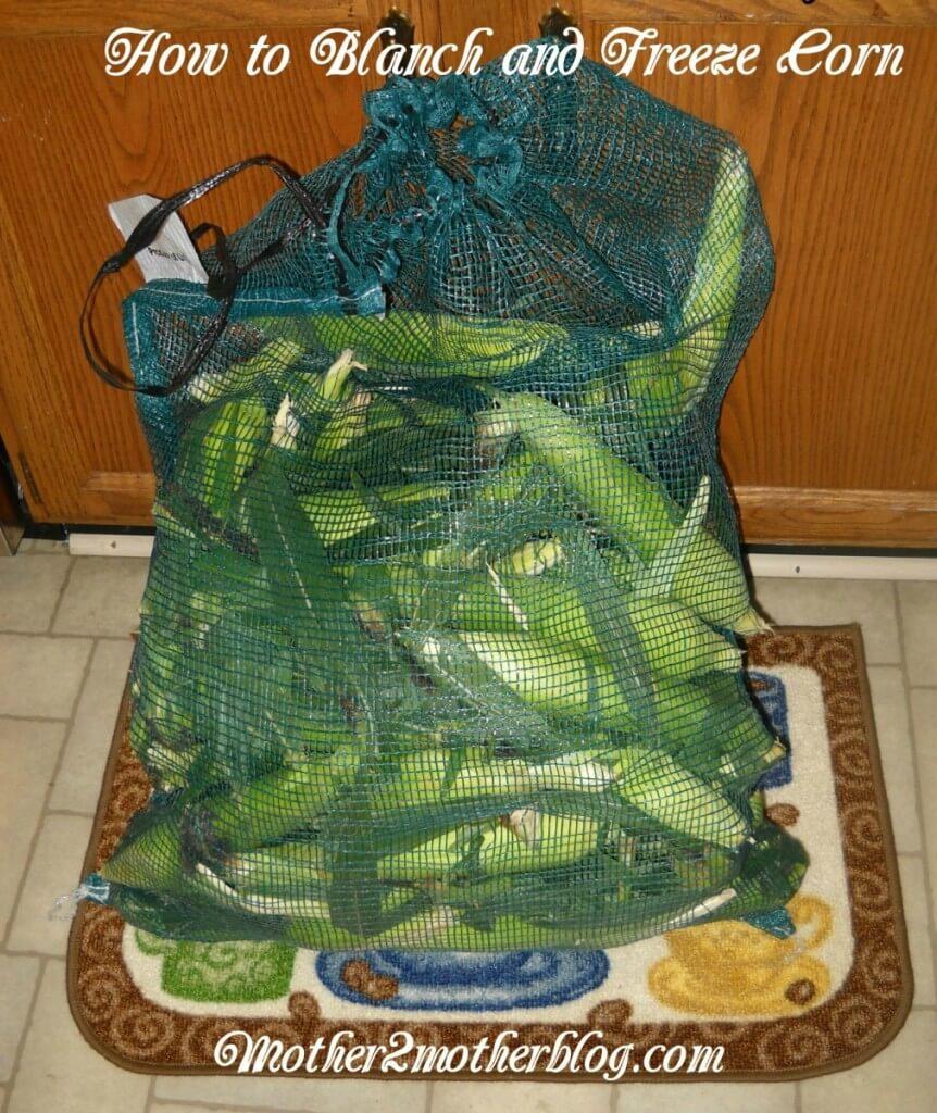 freezer corn, canning, kitchen gardens, vegetable gardens