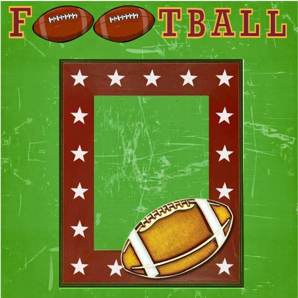 printable football scrapbook pages mother2motherblog