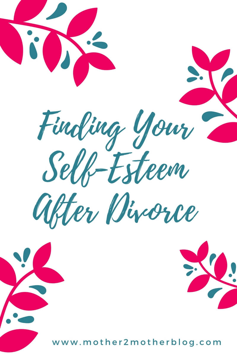 self-esteem after divorce