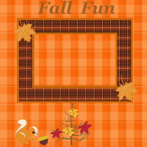 fall scrapbook ideas, fall scrapbook pages