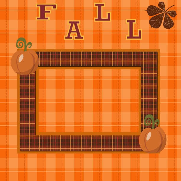 fall scrapbook pages, fall scrapbook ideas, printable scrapbook pages