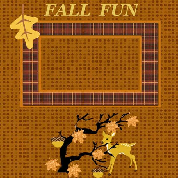 fall scrapbook pages, fall scrapbook ideas