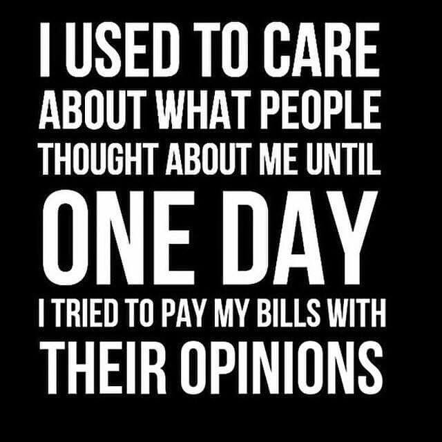 Inspirational Quote - People\'s Opinion - mother2motherblog