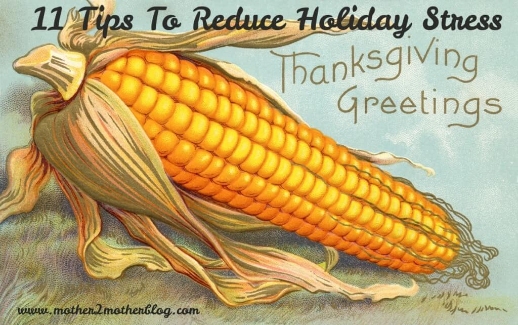 holiday stress, Thanksgiving