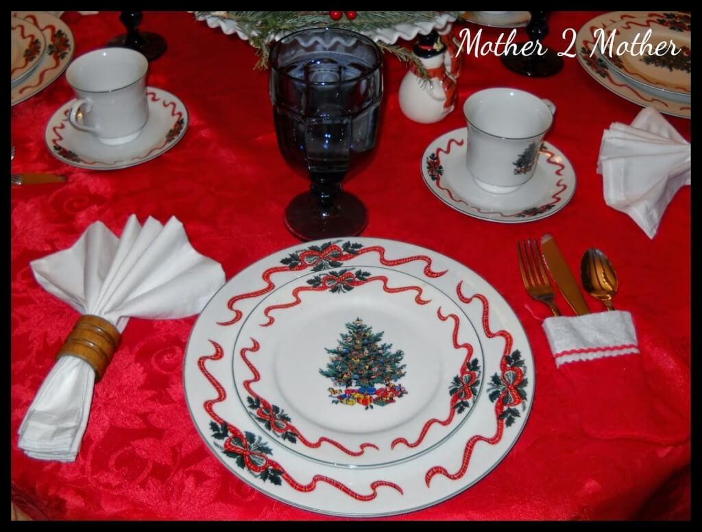 Christmas Place Settings