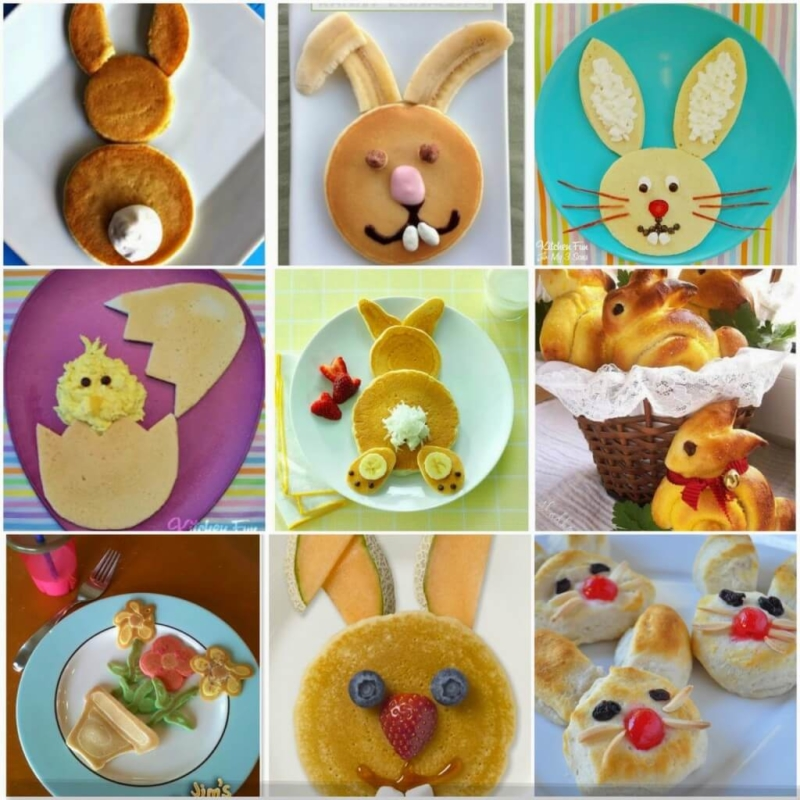 kids Easter Breakfast ideas