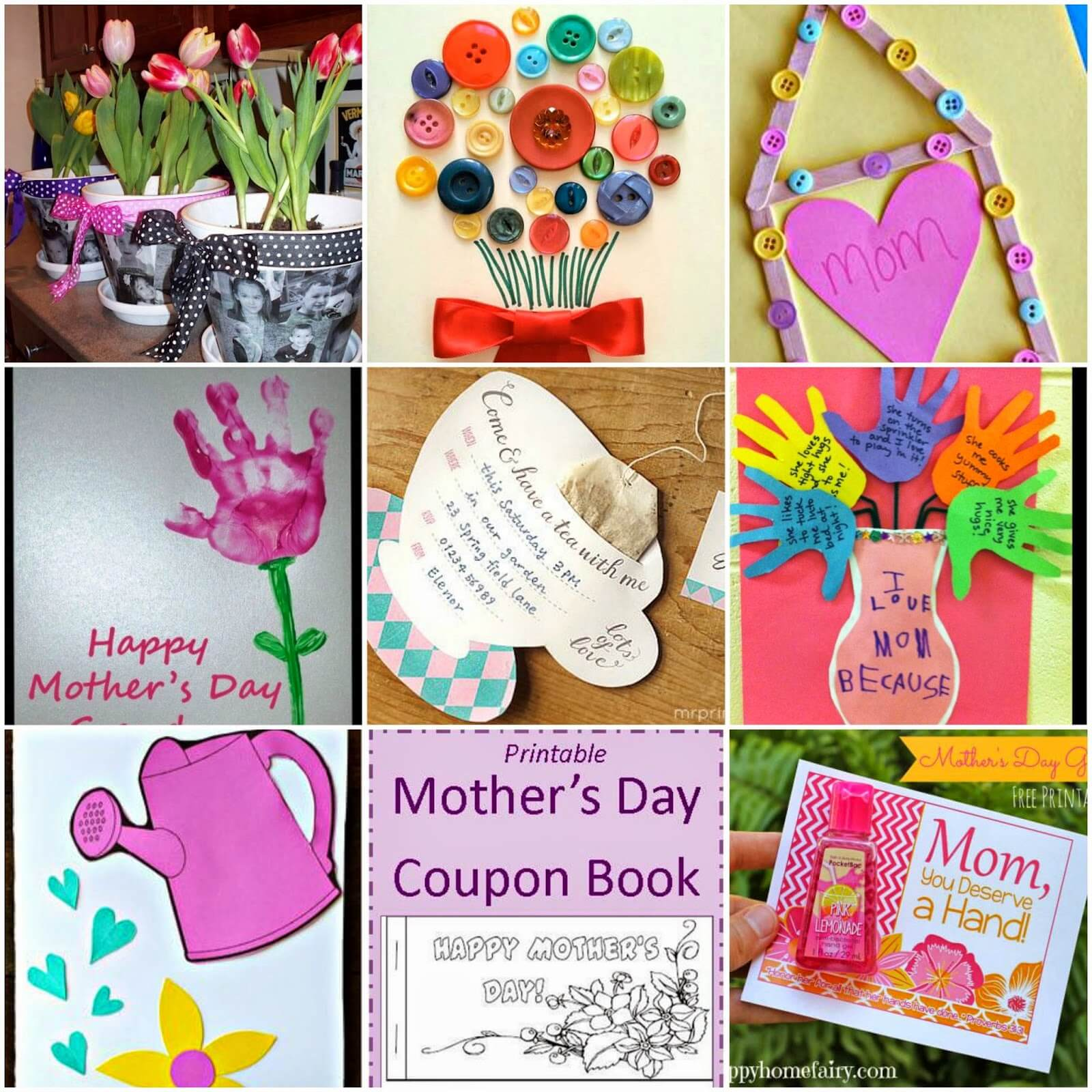 18 Mother's Day Crafts