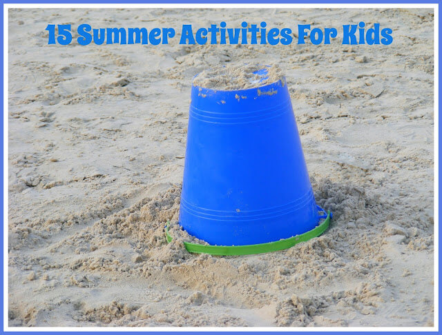 summer activities, summer ideas for kids, summer games for games