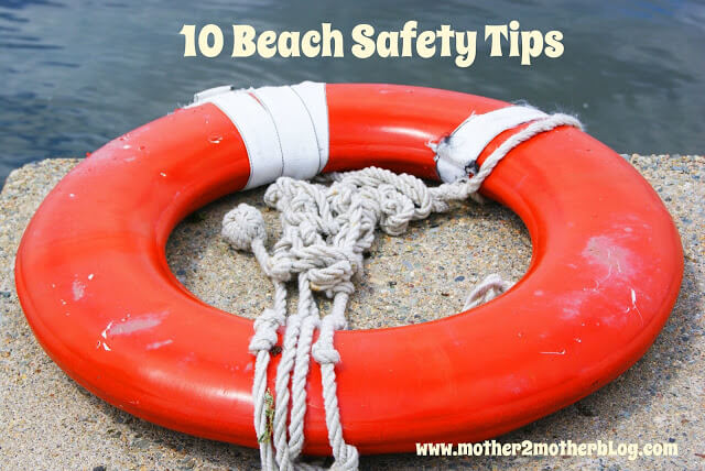 beach safety, children's beach safety tips