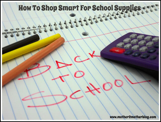 school shopping, back to school shopping, back to tips, how to shop for school supplies