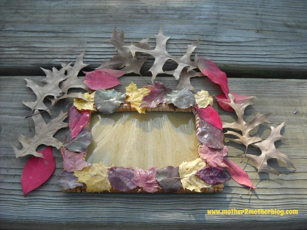 fall crafts, fall leaf projects