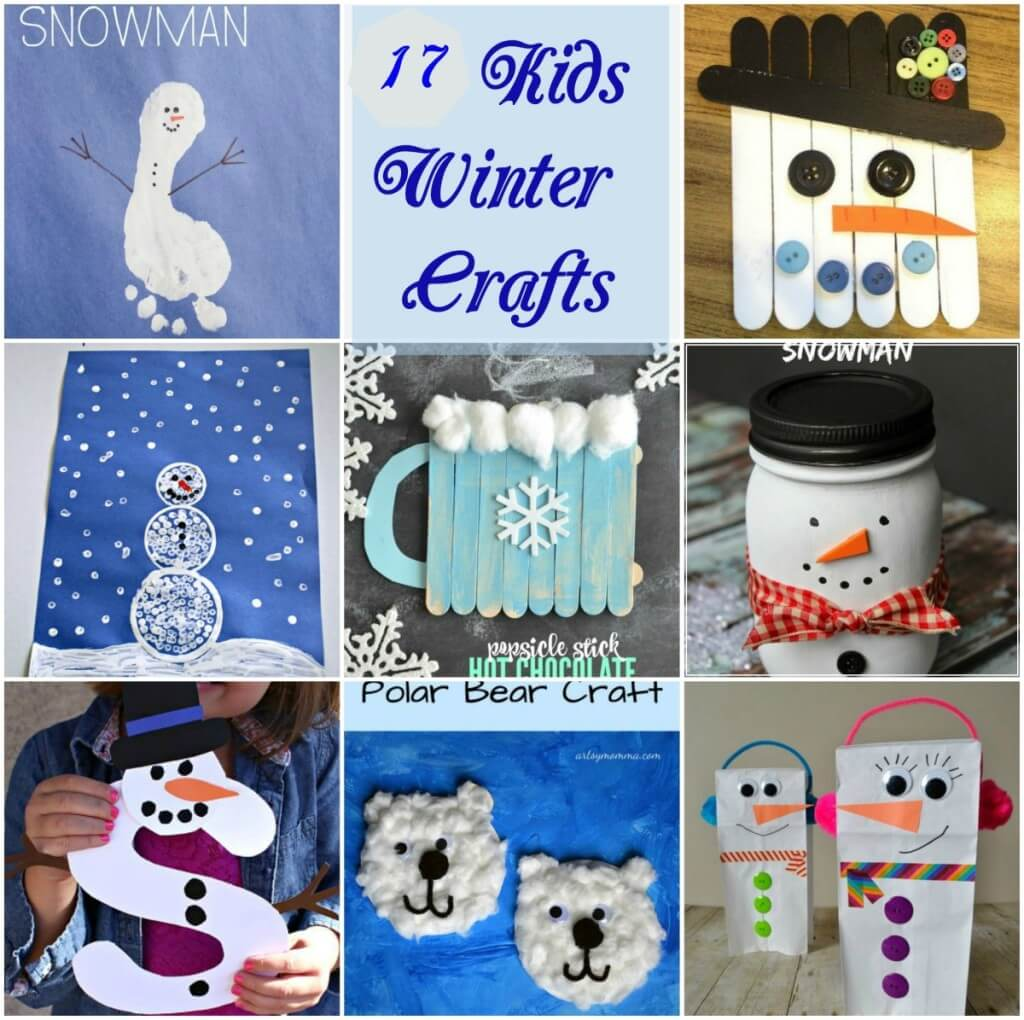Kids Winter Craft Ideas Part - 45: Winter Crafts For Kids, Snowman Crafts, Kids Snowman Crafts