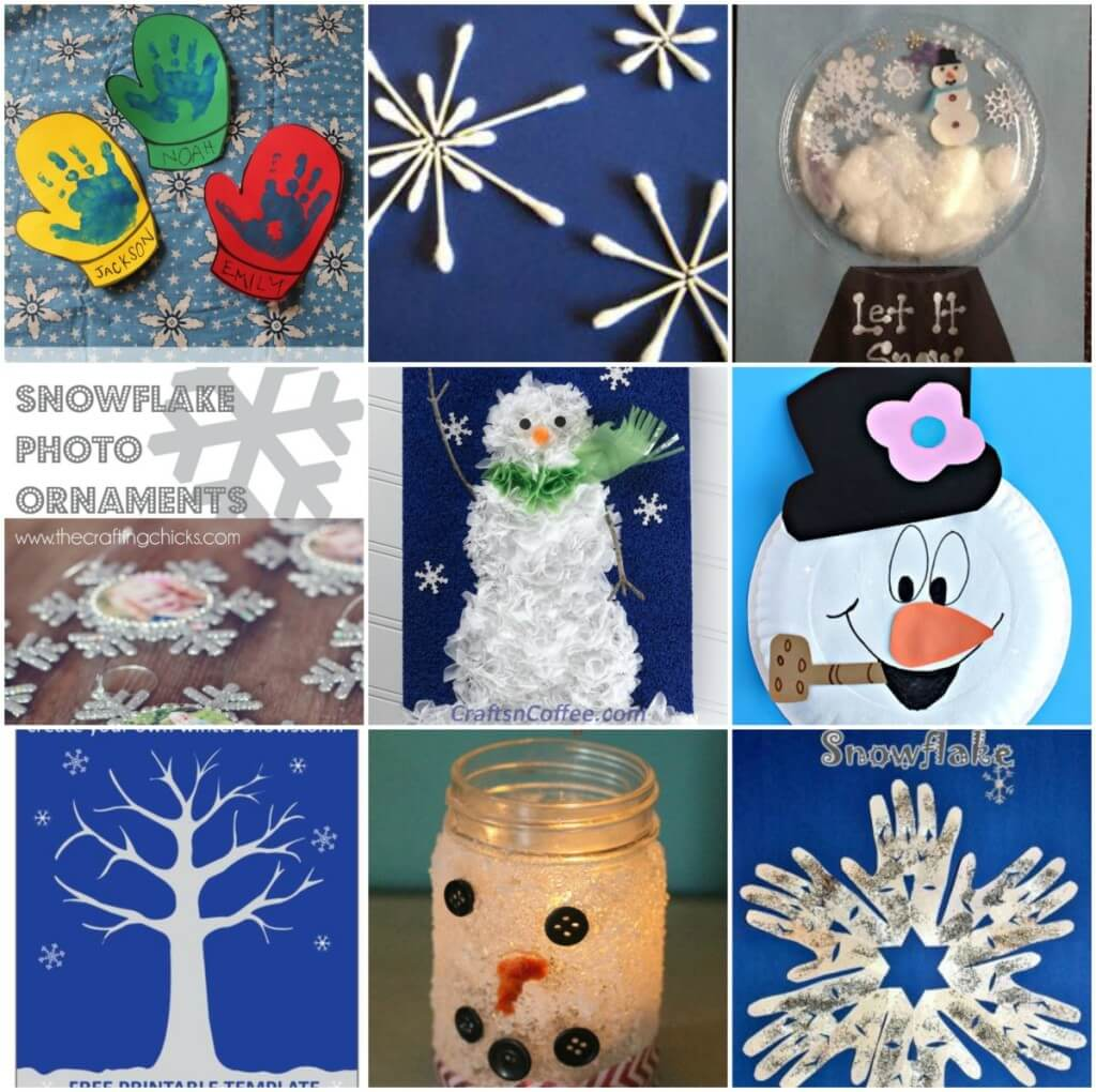 Good Kids Winter Craft Ideas Part - 11: Image-Kids-Winter-Crafts-Roundup2