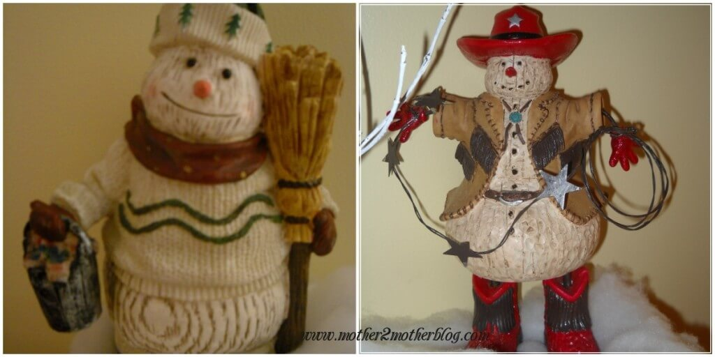 snowmen, winter decorating,