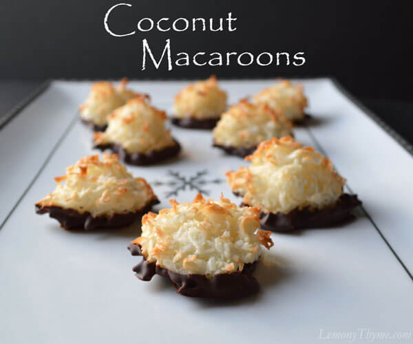 desserts, macaroons