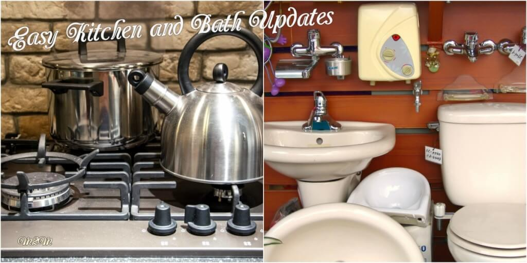 home improvements, kitchen updates, bathroom updates,