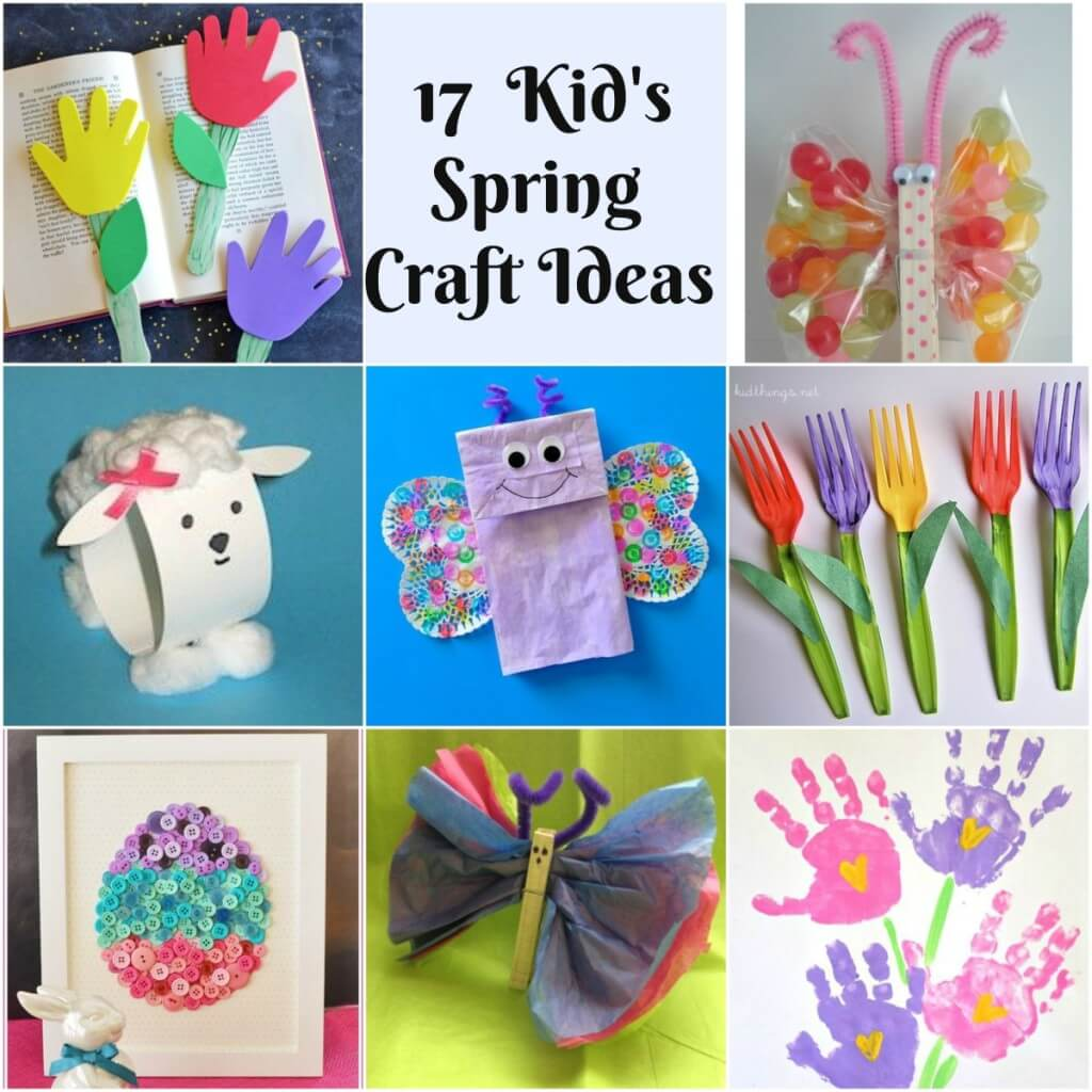 17 Kid S Spring Crafts Mother2motherblog
