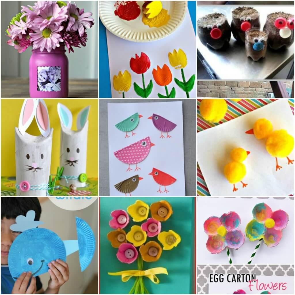 17 Kid S Spring Crafts Mother2motherblog