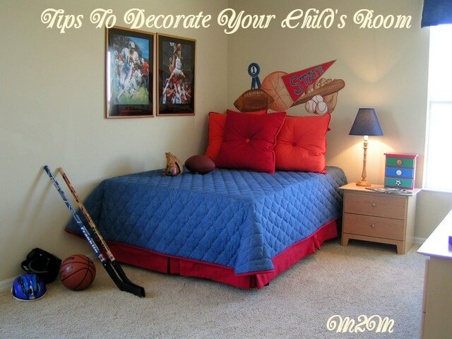 decorating tips, children's decorating ideas, children's bedroom ideas