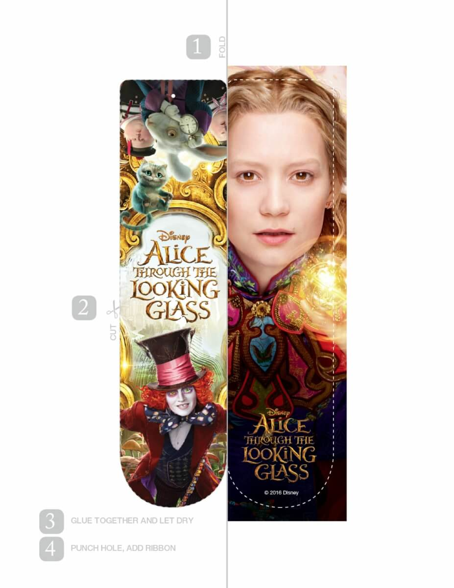 AliceThroughTheLookingGlass-Book-Marks2