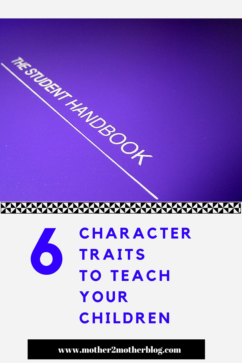 character traits, children's traits, developing character