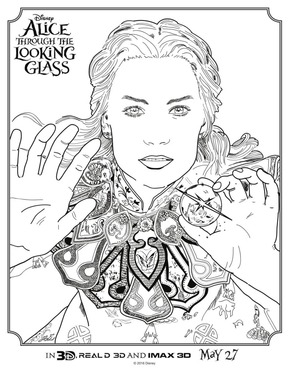 Image-AliceThroughTheLookingGlass-Coloring-Page1