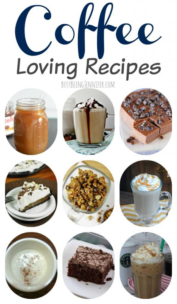 coffee recipes, coffee desserts