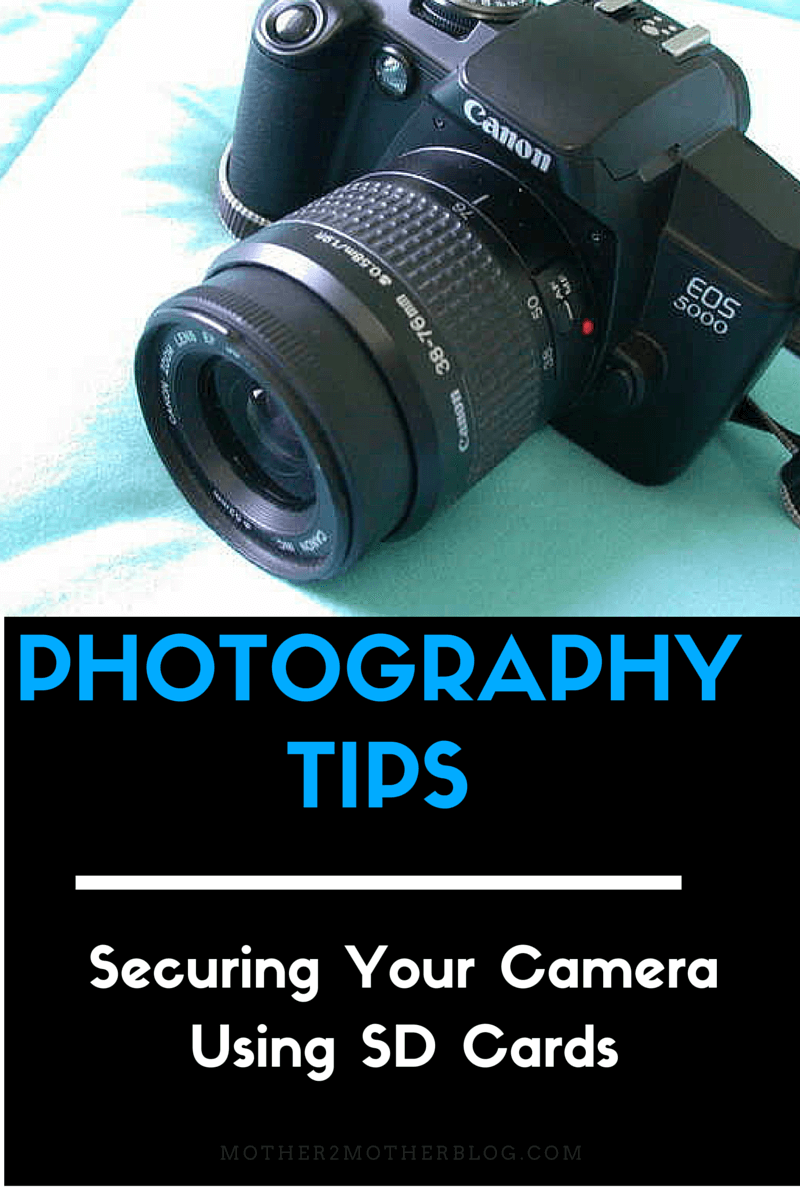photography tips, how to secure your camera, Best SD Cards
