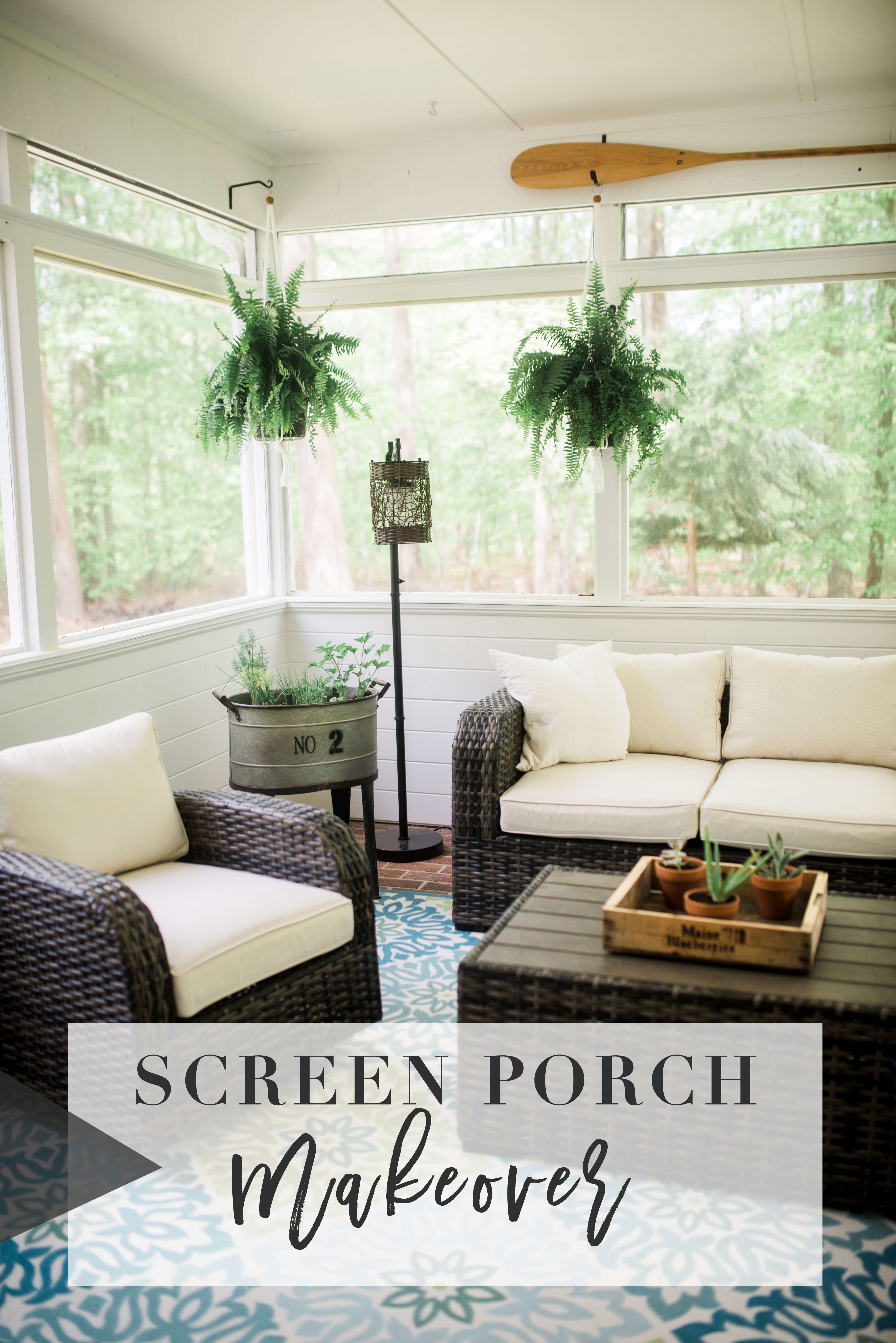 outdoor living, deck makeovers, porch makeovers. wicker furniture
