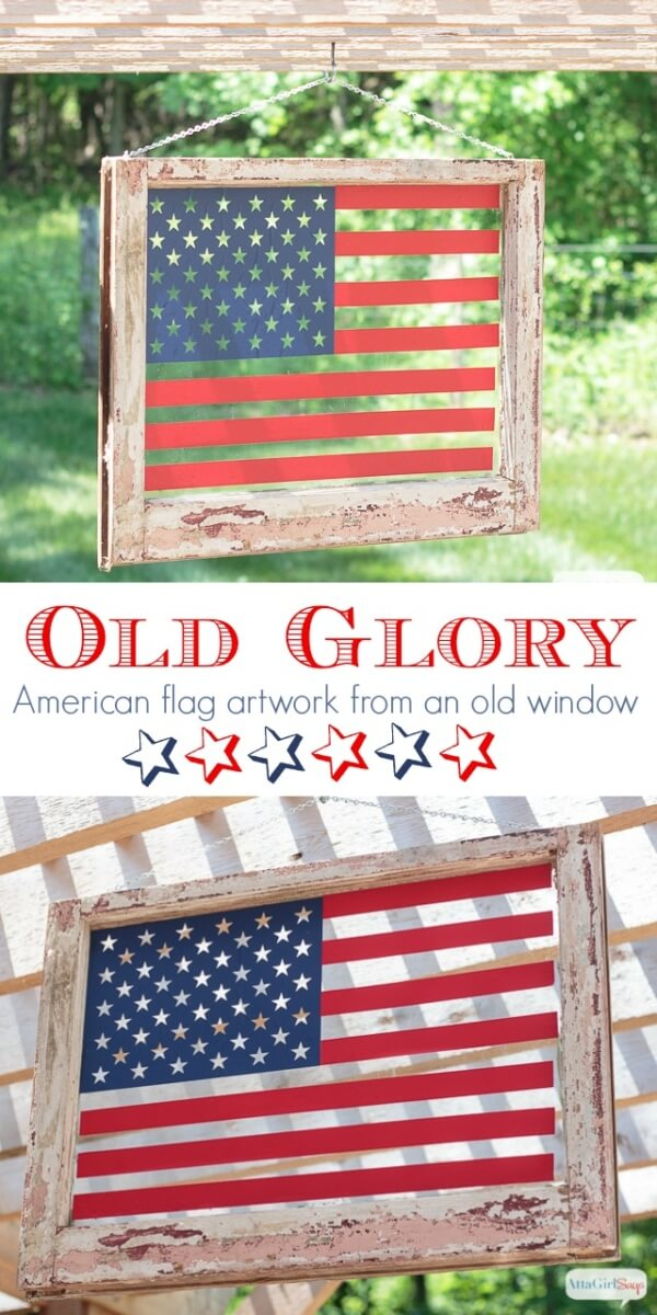 patriotic crafts, patriotic DIY