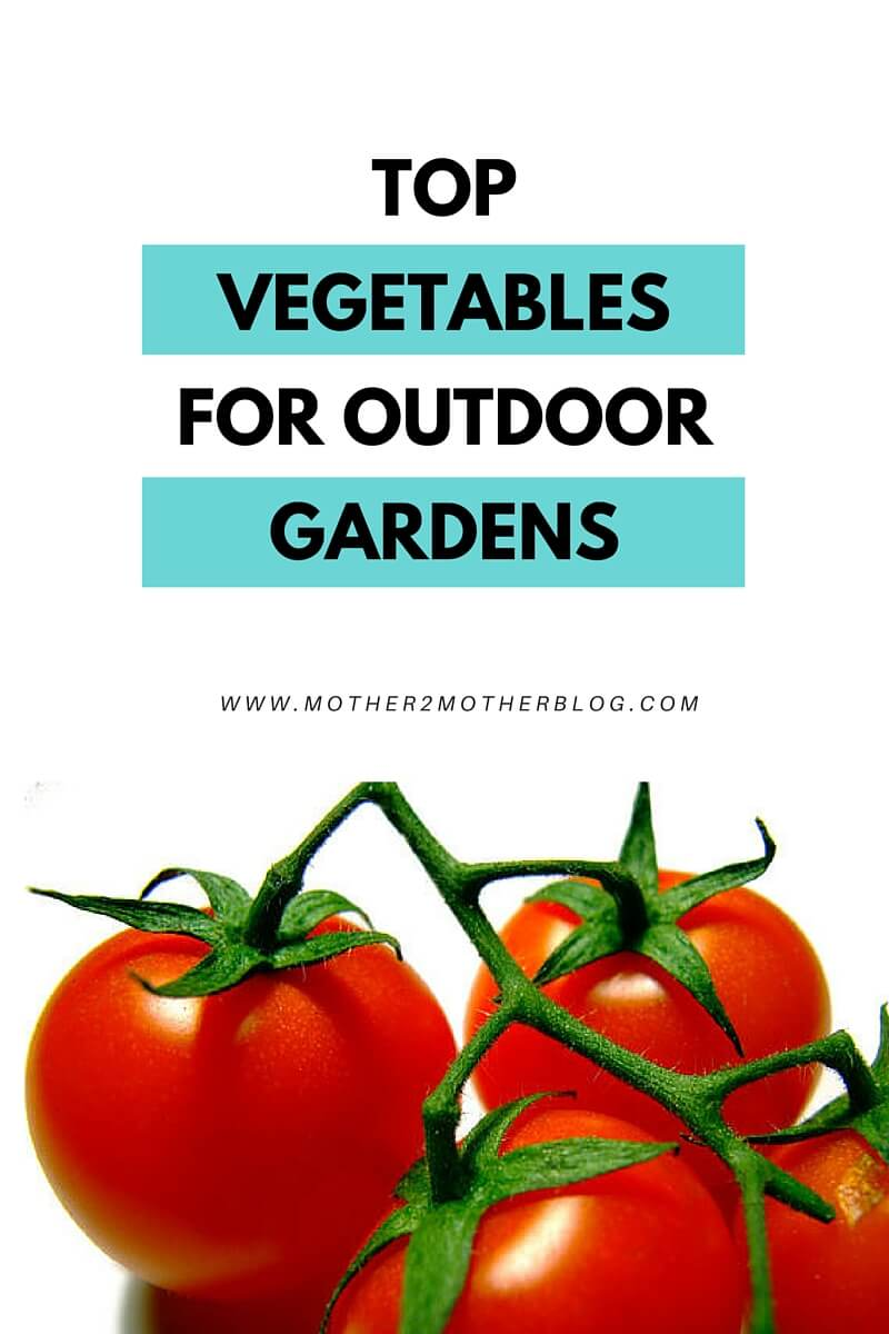 vegetables for outdoor gardens
