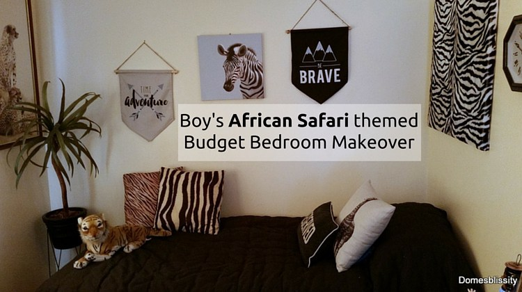 boys room makeovers, safari themed rooms