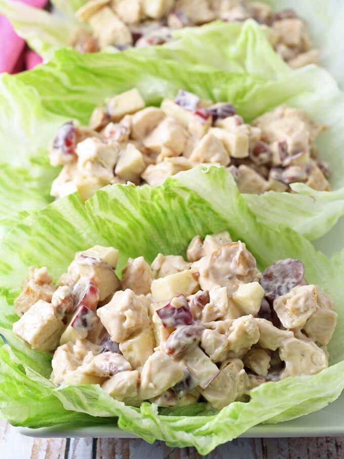 chicken recipes, chicken salad recipes, light recipes