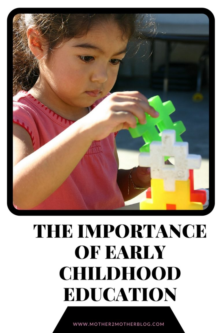 the importance of education in early childhood