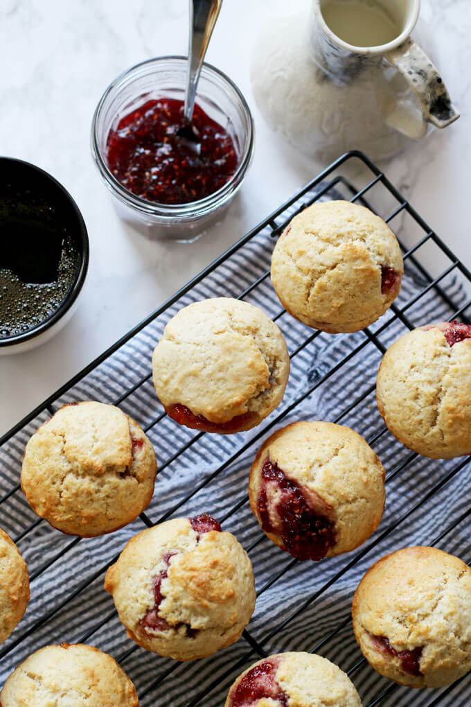 muffin recipes, jam recipes, breakfast ideas