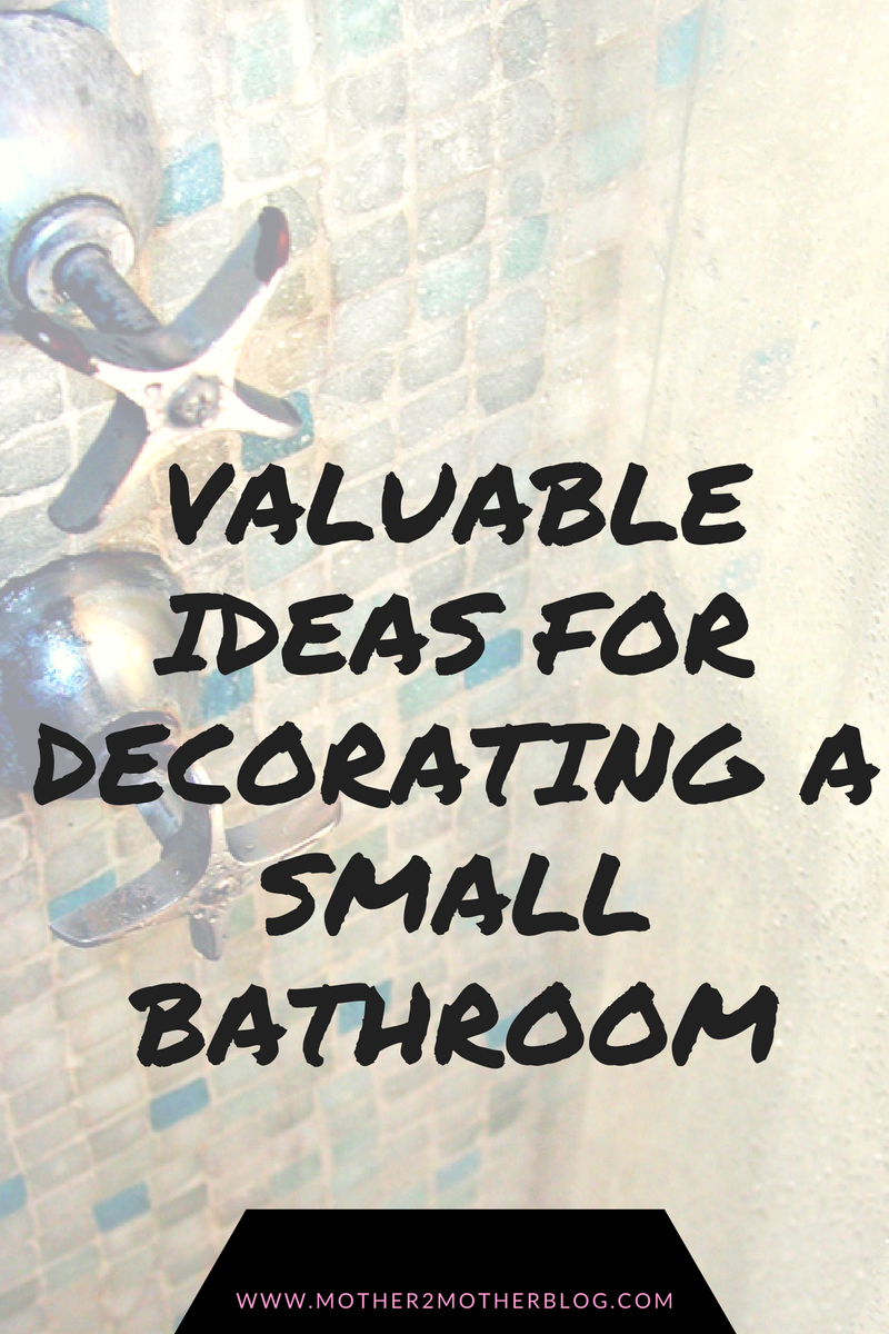 tips for remodeling or decorating a small bathroom