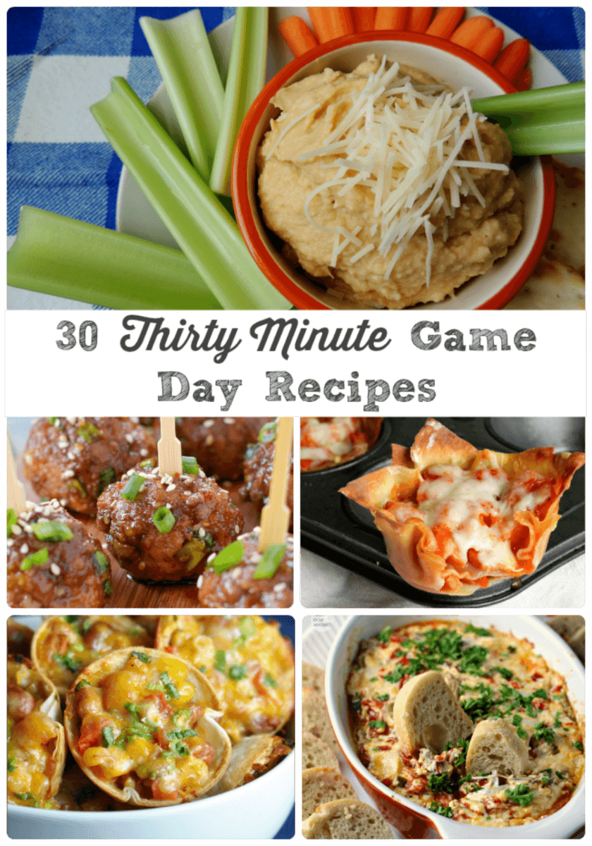 Check out these recipes for your next game day or tailgating party!