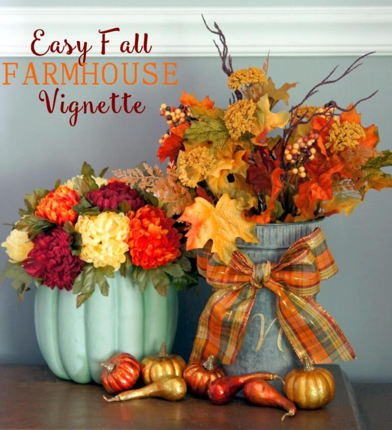 fall decorations, fall decorating ideas,