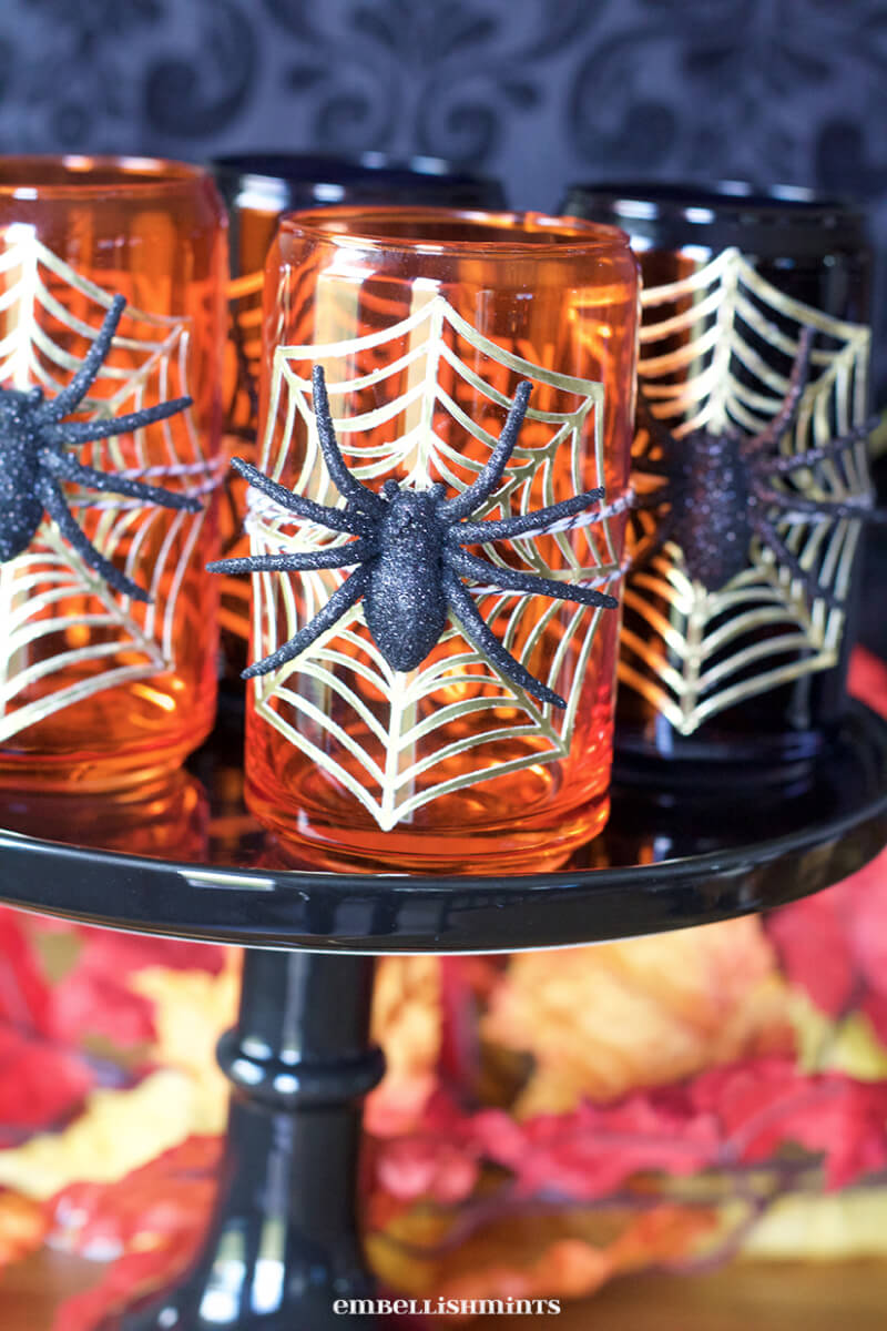 halloween ideas, DIY Halloween Glasses
