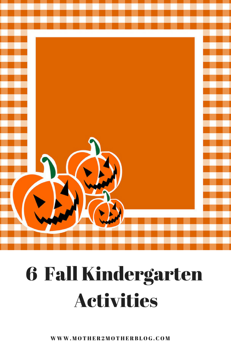 kindergarten activities with a fall theme