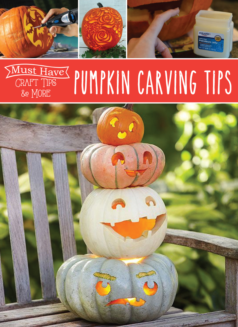 how to carve a pumpkin tips
