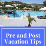 tips for a clean house after vacation