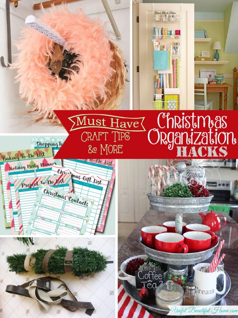 Christmas Organization Tips