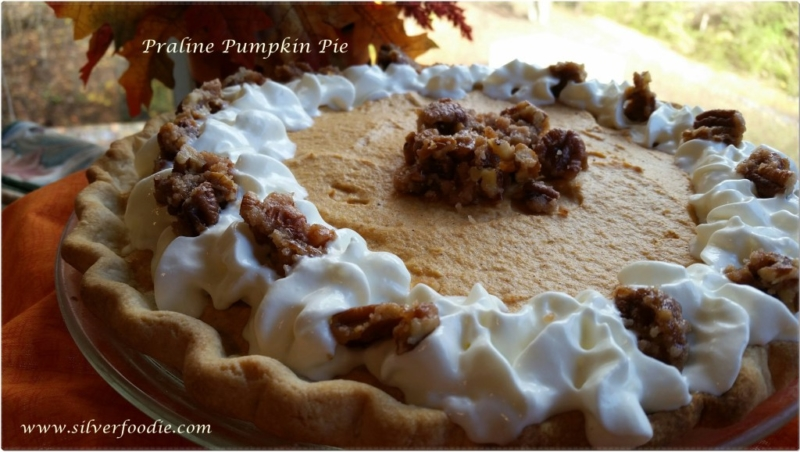 recipe for praline pumpkin pie