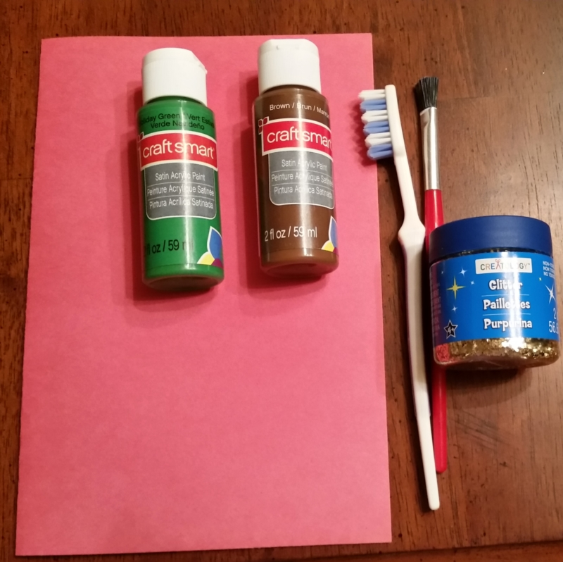Kindergarten Christmas crafts