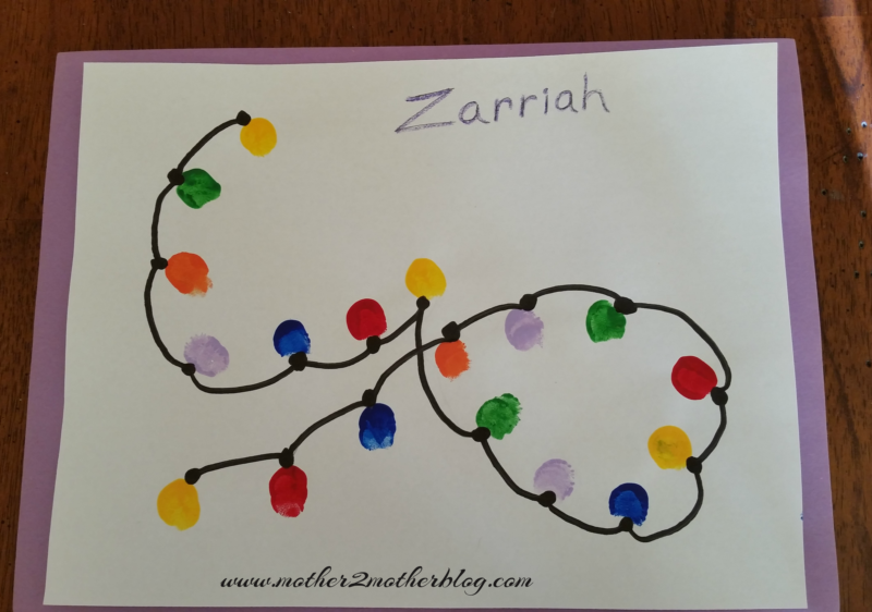 kindergarten Christmas craft